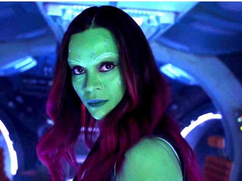 arte conceptual muestra a Gamora diferente