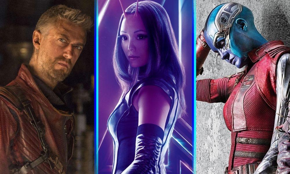 Kraglin brillará en Guardians of the Galaxy Vol. 3