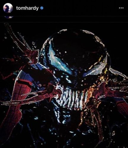 Tom Hardy ahead if you will fight against Spider-Man 'Venom: Let there be Carnage,' tom-hardy-venom-spiderman-432x500