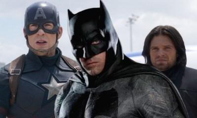 Batman y Captain America intercambiaron de ayudantes