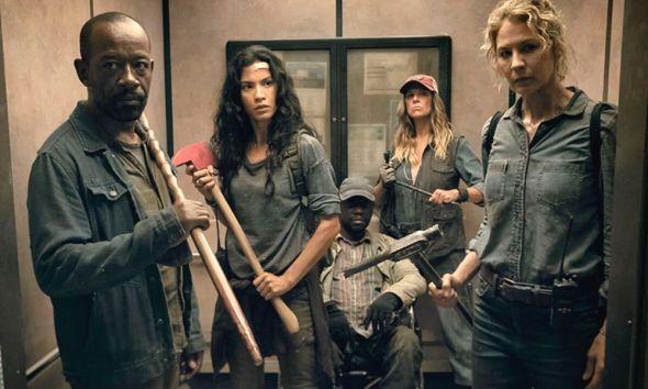 crossover de 'The Walking Dead'