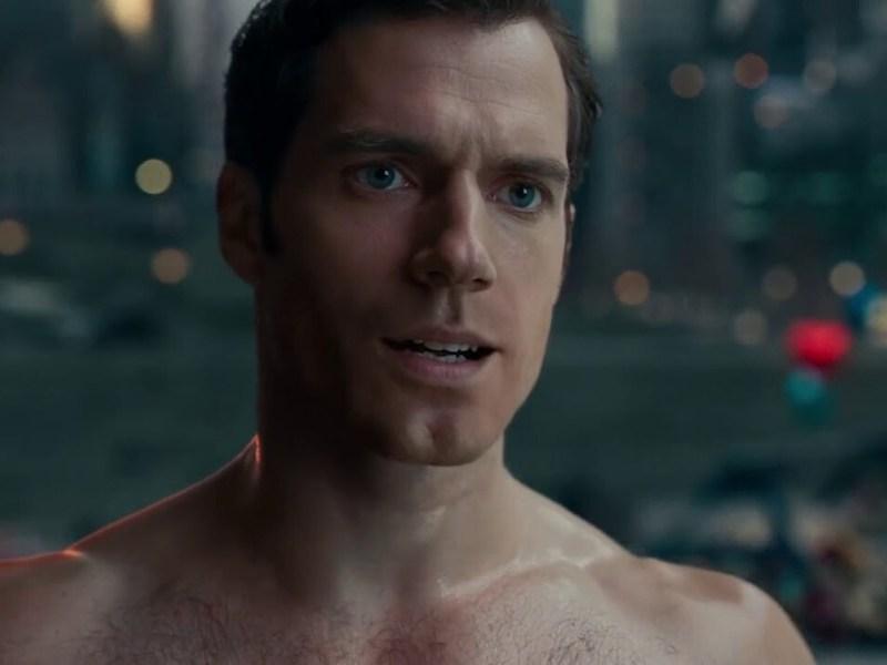 bigote de Superman en el Syder Cut