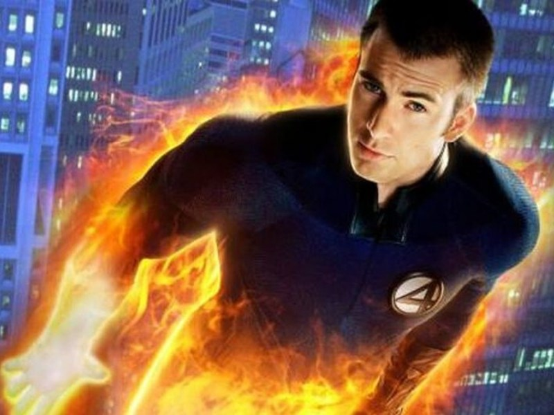 motivo por el que Chris Evans aceptó ser Human Torch