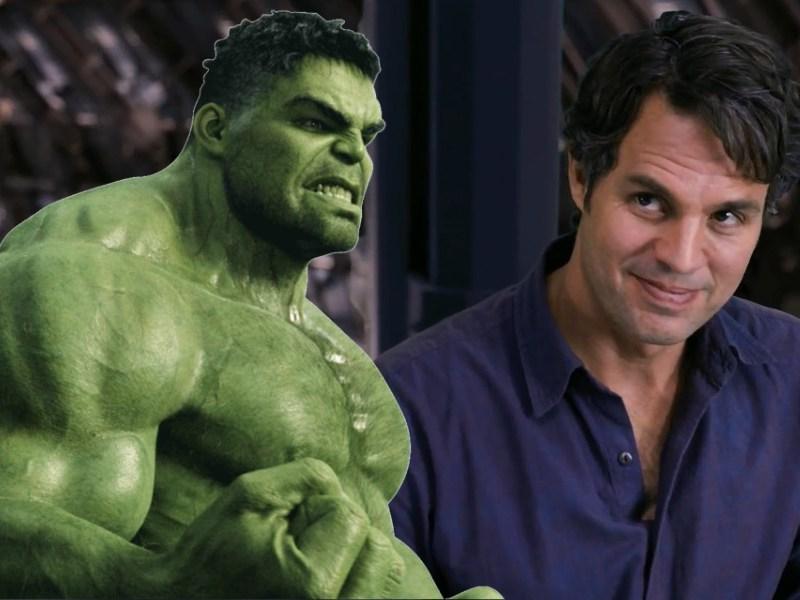 fan art de Bruce Banner y Hulk