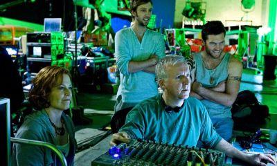 imagen del detrás de cámaras de 'Avatar 2'