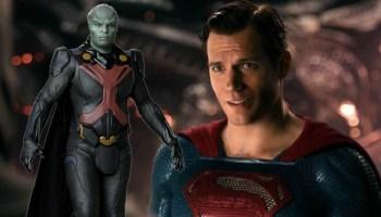 Rol de Martian Manhunter en Zack Snyder's Justice League