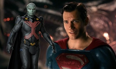 Rol de Martian Manhunter en Zack Snyder's Justice League