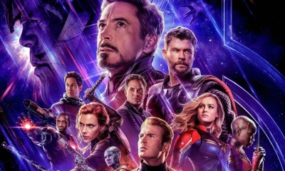 Nuevo póster retro de 'Avengers Endgame'