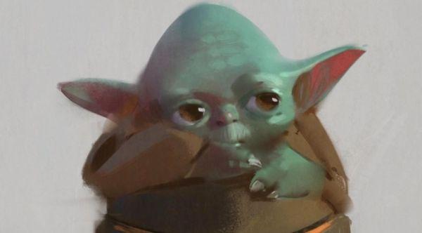¡Era aterrador! Revelan el primer diseño de Baby Yoda para 'The Mandalorian' primer-diseno-de-baby-yoda-1-600x332