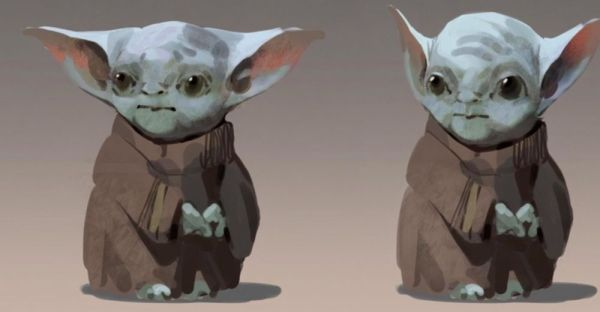 ¡Era aterrador! Revelan el primer diseño de Baby Yoda para 'The Mandalorian' primer-diseno-de-baby-yoda-3-600x312