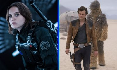 Rogue One y Solo para fans de series
