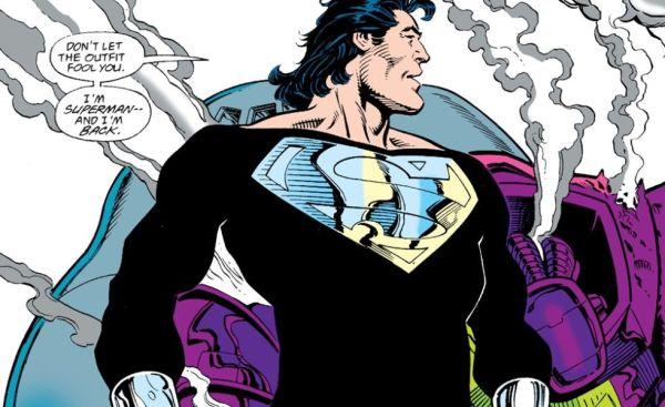 ¿'Justice League: Snyder Cut' mostrará el traje negro de Superman? superman-traje-negro-600x367