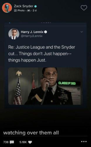 ¿Un miembro más? Revelan el rol de Martian Manhunter en 'Zack Snyder's Justice League' zack-snyder-martian-manhunter-311x500