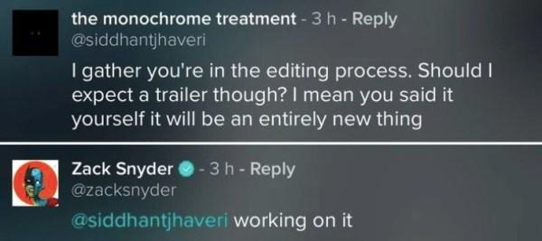 El trailer de 'Justice League: Snyder Cut' ya está en proceso de desarrollo zack-snyder-vero-comment-600x267