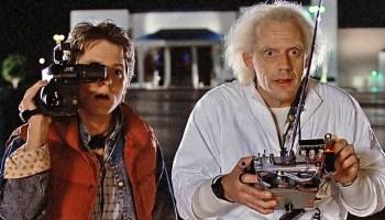 Cómo se conocieron Marty McFly y Doc Brown