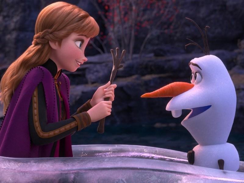 escena post créditos de Frozen 2 tiene un error