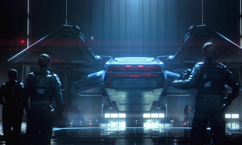 trailer de Star Wars: Squadrons