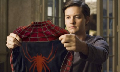 Fan art de Tobey Maguire en 'Into the Spider-Verse 2'