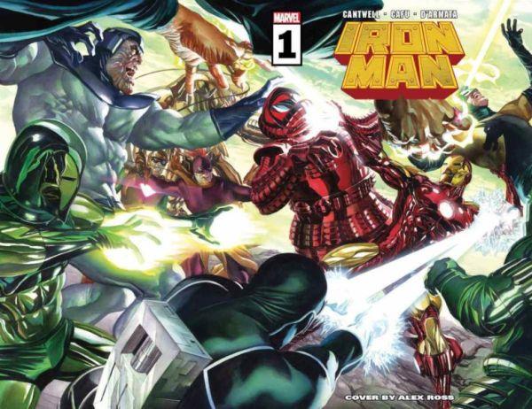 ¡Más espectacular que el de Robert Downey Jr.! Marvel presenta el nuevo traje de Iron Man iron-man-1-cover-600x462