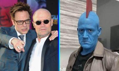 James Gunn reaccionó a Luis Hernández como Yondu