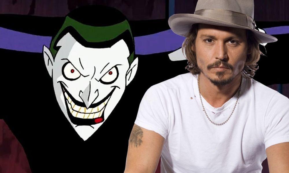 ¿Joker del futuro Johnny Depp aparecería en 'Batman Beyond'