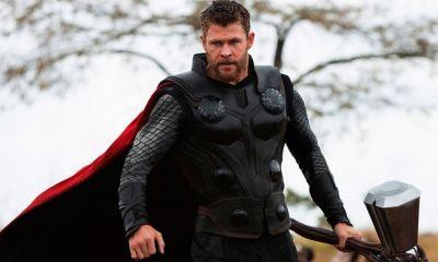 arte conceptual del traje de Thor