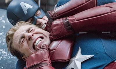 Avenger festeja 4 de julio con imagen de Captain America