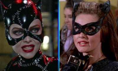 Batman Returns rindió homenaje a Catwoman de Adam West