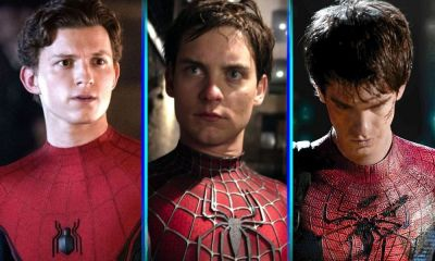 edad de los actores que interpretaron a Spider-Man