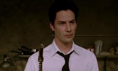 fan art de Keanu Reeves como Constantine