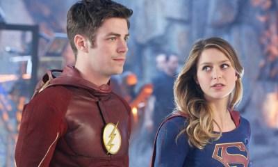 Flash y Supergirl pueden atravesar objetos