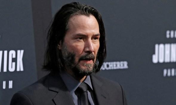 Fan art de Keanu Reeves como Green Lantern y Sinestro