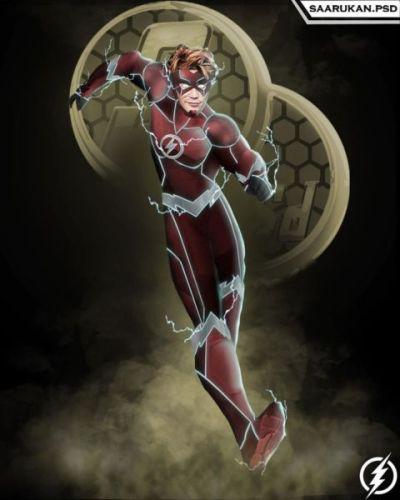 ¿Y Keiynan Lonsdale? Actor de 'Riverdale' se convierte en el nuevo Wally West del Arrowverse kj-apa-wally-west-the-flash-400x500