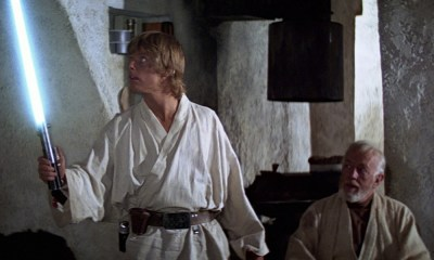 Cómo los Jedis bloquean disparos con la fuerza