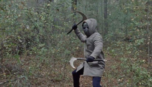 personaje enmascarado en 'The Walking Dead
