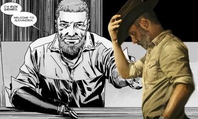 Por qué Rick Grimes no perdió la mano