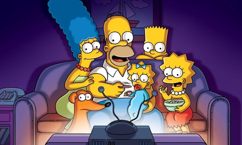 razón de la piel amarilla de The Simpsons