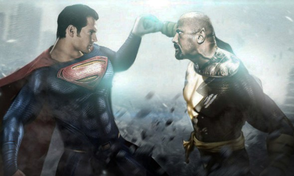 Fan video de la entrada de Black Adam al DCEU