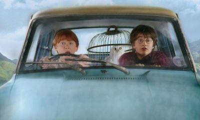 auto volador nunca volvió en Harry Potter