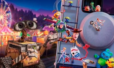 crossover de 'Toy Story 4' y 'Wall-E'