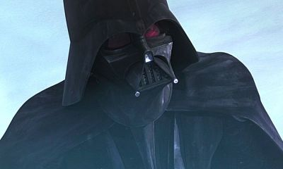 diseño de Darth Vader para 'The Clone Wars'