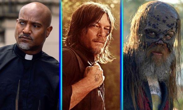 Gabriel moriría en 'The Walking Dead'