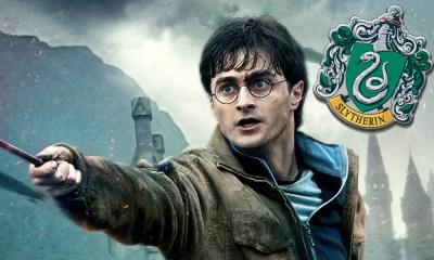 Harry Potter hubiera pertenecido a Slytherin
