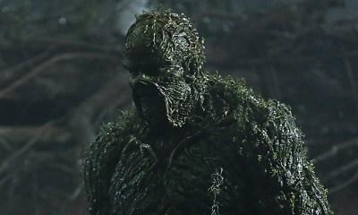 Diseño de Swamp Thing en Justice League Dark