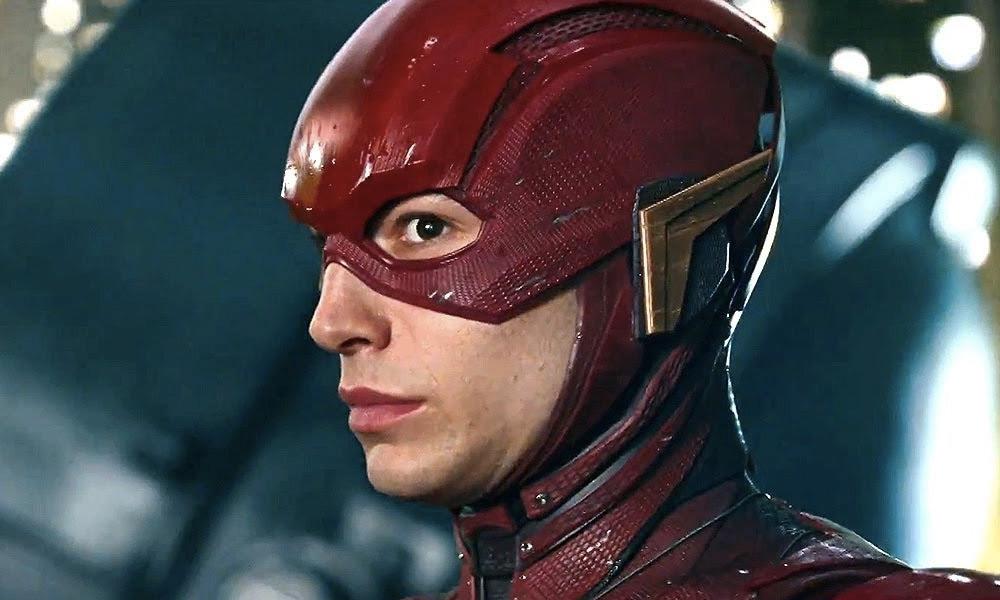 Nuevo traje de Ezra Miller en la película de The Flash