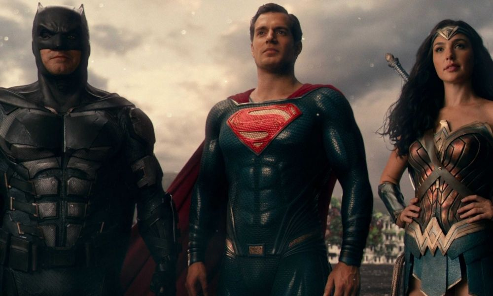 título final de Zack Snyder's Justice League