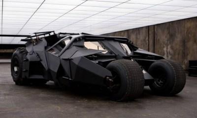 Batimóvil de The Dark Knight fue hecho de pedazos de juguetes