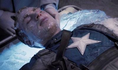 cómo sobrevivió congelado Captain America