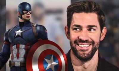 John Krasinski será Captain America
