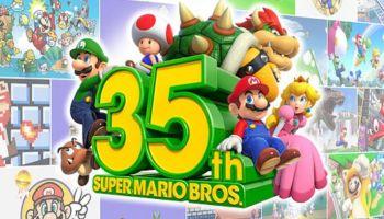 Nintendo festeja el lanzamiento de Super Mario Bros